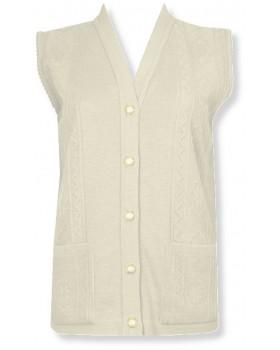 Cream Waistcoat